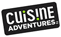 Corporate logo for Cuisine Adventures, a provider of appetizers and soups for CH Guenther and Son.
