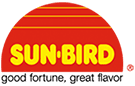 Corporate logo for Sun Bird, a provider of Asian seasonings and sauce mixes for CH Guenther and Son.